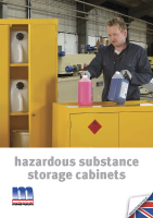 Moresecure Hazardous Cupboard